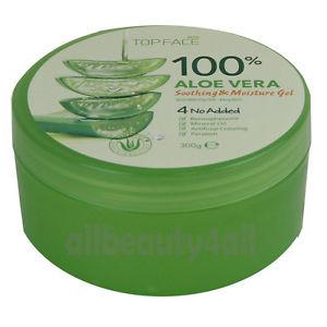 100% Pure ALOE VERA SOOTHING & MOISTURE GEL 300ml for Skin care - Made in Korea