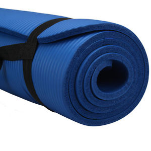 "10mm Thick Non-Slip Yoga Mat Pad Exercise Fitness Light Weight 72""x24"" Workout"