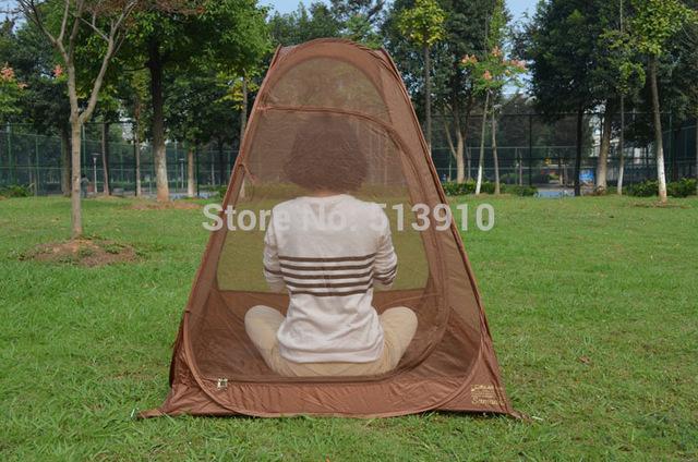10PC/lot meditation retreat tent / camping / meditation pop up automatic tent moisture Yoga tent mosquito net