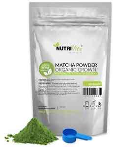 1KG (2.2lbs) 100% NEW Matcha Green Tea Powder Organically Grown Japanese nonGMO