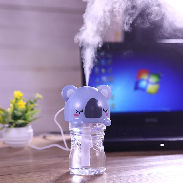 2016 Limited Rushed Humificador Humidificador Difusor De Aroma Cartoon Cap Atomizing Humidifier Mini Air Purifier Aromatherapy