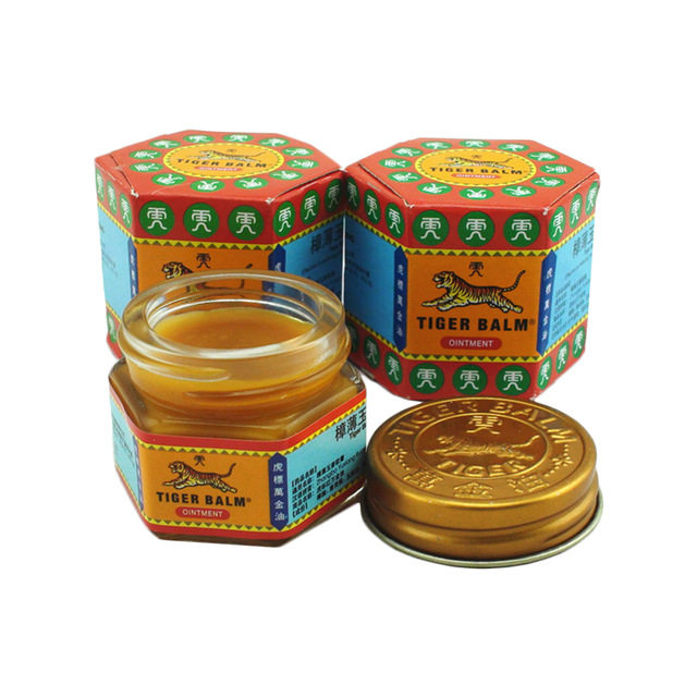 2Pcs Red Tiger Ointment Essential Balm Insect Bite Strength Pain Relief Arthritis Joint Pain Neck Knee Body Massage MassagerC106