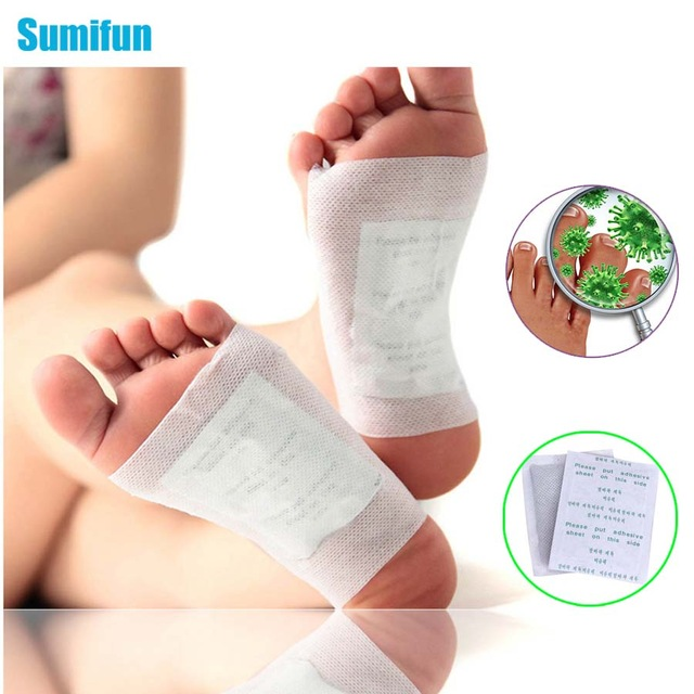 2Pcs/1Bag Kinoki Detox Foot Pad Patch Bamboo Help Sleep Body Neck Massager Massage Relaxation Stress Pain Relief Foot Care B010