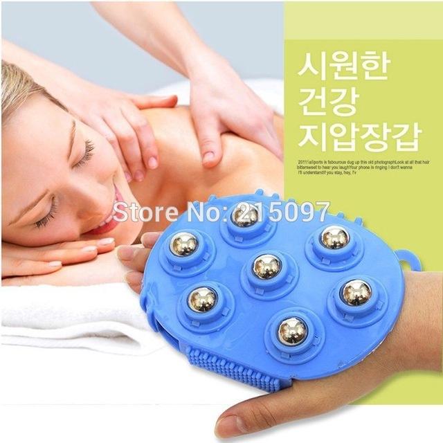 360 Degree body cellulite massage cell roller ball pain relief relax massager neck leg back massage wheel massageador corporal