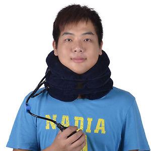 Adjustable Inflatable Neck Stretcher Shoulder Pain Relief Back Tension Traction