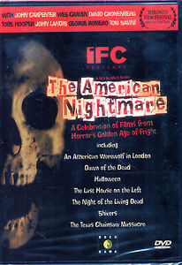 American Nightmare : Factory Sealed DVD George A. Romero John Carpenter NEW!