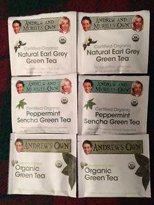 Andrew Lessman Green Tea Sampler Pack consisting of 12 Sachets