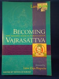 BECOMING VAJRASATTVA Tantric Purification Lama Yeshe BOOK yoga meditation Buddha