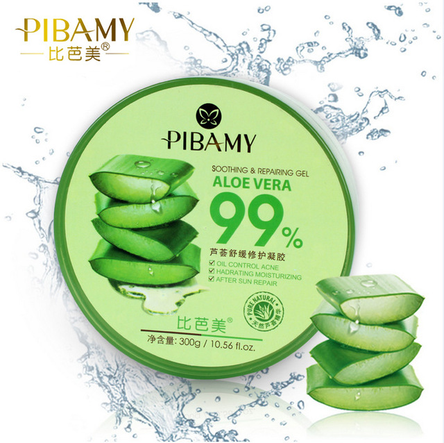 Best Face Care concentrated Aloe Vera 99% Soothing Gel Cream 300ml 0.56 fl.oz. After Sun Repair Soothing Moisture Whitening Mask