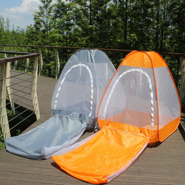 Can sit and lie outside the tent meditation retreat automatic mosquito net Anti-interference Mongolia nets Yoga Bag