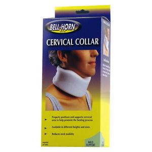 Cervical Collar Neck Broken Sprain Brace Support Pain Relief Mild Bell Horn 311