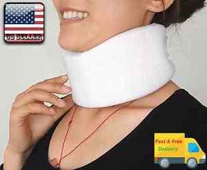 Cervical Soft Foam Neck Collar Brace Support Firm Shoulder Press Pain Relief NEW
