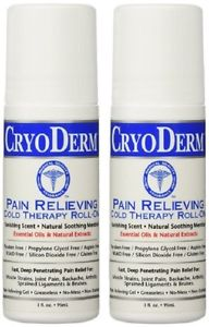 CryoDerm Soothing Pain Relief Roll On 3 Oz Arthritis Sprains Neck Back Pains 2pc