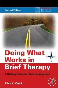Doing What Works in Brief Therapy: A Strategic Solution Focused Approach (2nd...