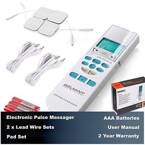 Electronic Pulse Massager Trumedic TENS Pain Relief Muscle Therapy Stimulator