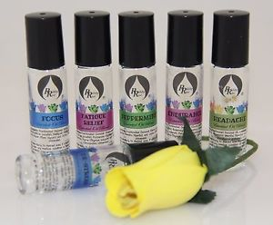 Essential Oil Blends - 100% Pure & Natural Therapeutic Grade Roll-On 10ml