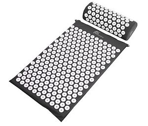 Exercise Mat Acupressure Pain Mat And Pillow Set 30 Min Massage Back Neck Relief
