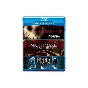 FRIDAY THE 13TH/NIGHTMARE ON ELM STREET/FREDDY VS JASON (BLU-RAY)