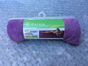 "Gaiam Thirsty Yoga Mat Towel - Lavender - 24"" x 68"""