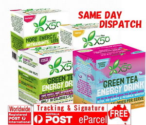 GREEN TEA X50 TRIBECA HEALTH ALL FLAVOUR