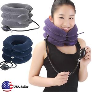 High Quality Cervical Neck Traction Collar Relief Shoulder Pain Relax Pillow