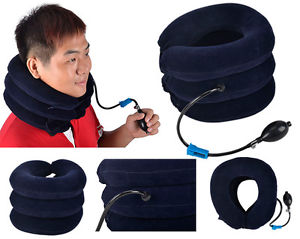 Hot Cervical Neck Traction Collar Pain Relief Shoulder Adjustable Inflatable