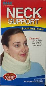 Hot Cold Neck Support Relief Wrap Therapy Therapeutic Pain Relief Sore Muscle