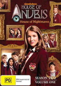 HOUSE OF ANUBIS - House Of Nightmares: Season 2: Volume 1 DVD NEW TV SERIES R4