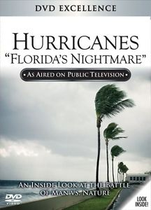 HURRICANES - FLORIDA'S NIGHTMARE - DVD HAS OUTER COVER - SHIPS FREE IN US
