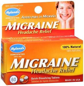 Hyland's Migraine Headache Relief Quick-Dissolvi