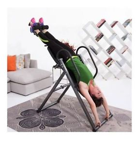 Inversion Table Back Therapy Fitness Pain Relief Exercise Equipment Yoga - New