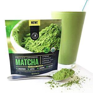 Jade Leaf - Organic Japanese Matcha Green Tea Powder Culinary Grade (For ... New