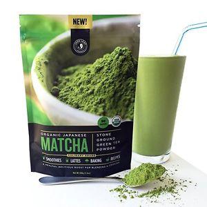Jade Leaf - Organic Japanese Matcha Green Tea Powder, Culinary Grade (For...