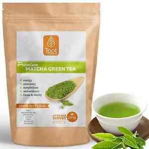 Japanese Matcha Green Tea Powder - Latte - Detox - Up to 100 Serves