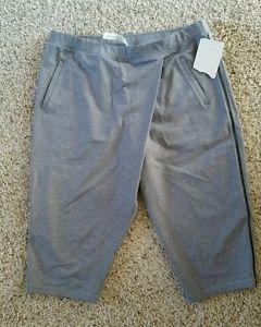 LULULEMON Gray RETREAT YOGI Cropped Yoga Pants sz 10 NWT
