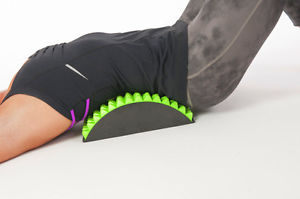 Lumbar Chronic Back Stretcher Pain Relief Neck Traction Support Supporter