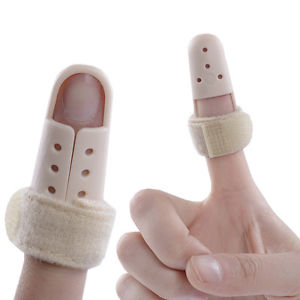 Mallet DIP Finger Support Brace Splint Joint Protection Injury Pain US Ship