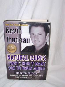 "Natural Cures ""They"" Don't Want You to Know About by Kevin Trudeau Hardbound!"