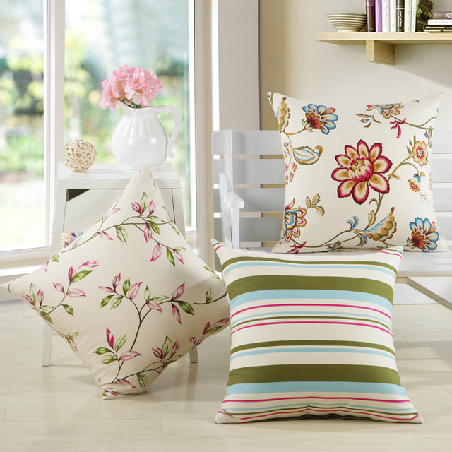 NEW hot 3 styles home pillow decoration Flower stripe meditation cushion decorative pillows sofa Free shipping A-24