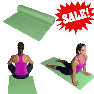 New Yoga Mat Exercise Fitness Pilates Camping Gym Meditation Pad Non-Slip