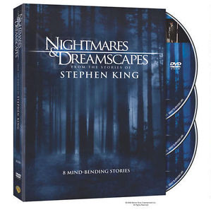 Nightmares & Dreamscapes Collection Stories of Stephen King ~ NEW 3-DISC DVD SET