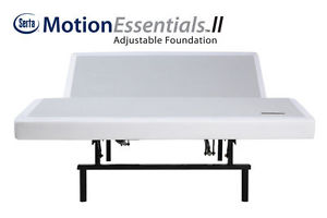 Serta Motion Essentials II Adjustable Bed Base Queen Size Free In Home Delivery