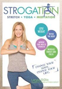STROGATION STRETCH YOGA MEDITATION WORKOUT DVD LARYSA DIDIO NEW SEALED