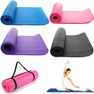"Thick 72""X 24"" Non-Slip Yoga Mat Gym Pad Exercise Physio Pilates Fitness Blanket"