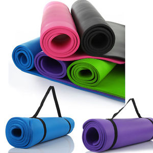 "Thick Non-Slip Yoga Mat Gym Workout Pad Exercise Pilates Fitness Blanket 72""X24"""