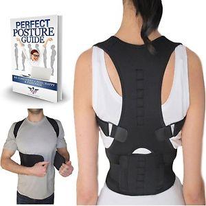Thoracic Back Brace Support for Back Neck Shoulder Upper Back Pain Relief Per...