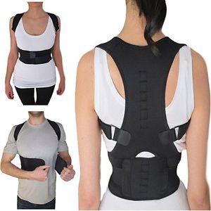 Thoracic Back Brace Support for Back Neck Shoulder Upper Back Pain Relief, Perfe