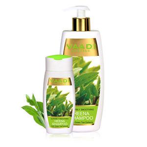 Vaadi Herbal Superbly Smoothing Heena Shampoo with Green Tea 350 ML