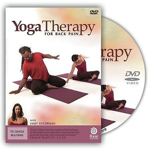 Yoga Therapy for Back Pain with Emily Kligerman - DVD