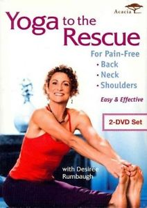 Yoga to the Rescue for Pain Free Back - DVD Region 1 Brand New Free Shipping